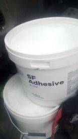 15 litres of sf acrylic adesive x 2