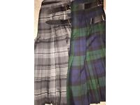 NEW PLEATED KILTS FOR SALE