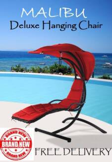 FREE DELIVERY Brand New MALIBU Hanging Chair - 3 Colour Options