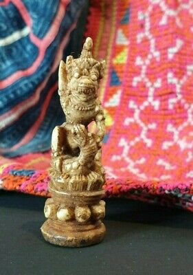 Old Balinese Carved Yak Bone Figure …beautiful collection & display piece