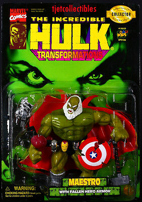The Incredible Hulk Transformations Maestro action figure ...