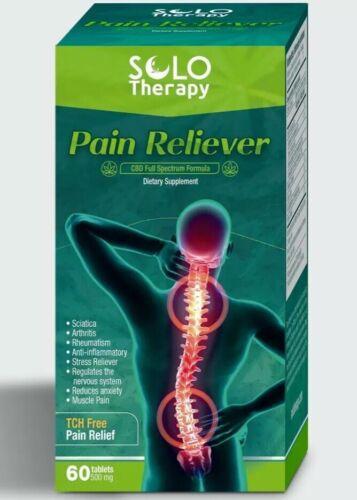 Pain Reliever Cannabis for Arthritis - Alivia El Dolor Artritis 60 Pills 500mg