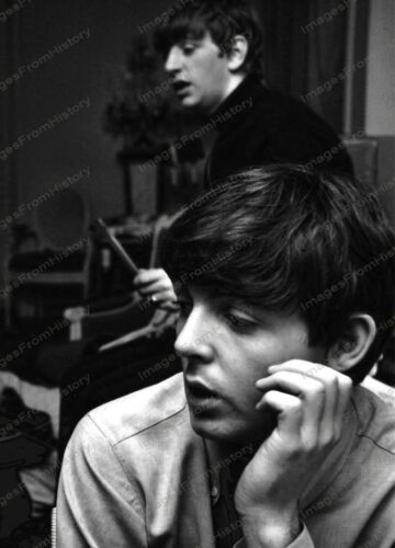 8x10 Print Beatles Paul McCartney Ringo Starr #7238