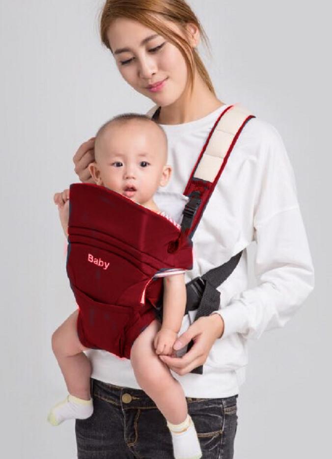 Cotton Infant Baby Adjustable Wrap Sling Front Back Carrier 4 Position Max 18kg - unbranded - ebay.co.uk