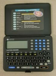 Oregon Scientific Calculator Databank (Scheduler, Home/World Time Alarm Clock)