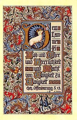 "Fleißbildchen Heiligenbild Gebetbild Andachtsbild Holy card Ars sacra"" H1247"""