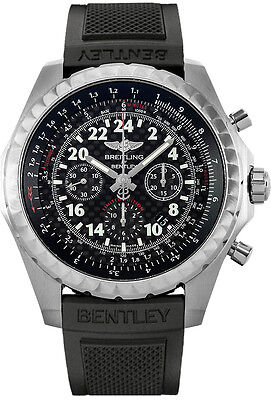 New Breitling Bentley 24H Chronograph Black Dial Men's Watch AB022022/BC84-220S