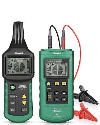 Ms6818 Wire Cable Pipe Finder Line 12v-400v Acdc Tester