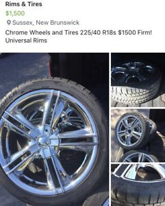 Chrome Wheels & Tires