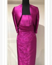 Gorgeous Dress & Jacket Size 12 (wedding guest outfit)