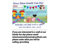 Tesco Toton Family Fun Day