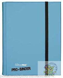 Ultra-Pro-PRO-binder-Light-Blue-card-holder-for-Mtg-WoW-Pokemon-Yugioh-cards