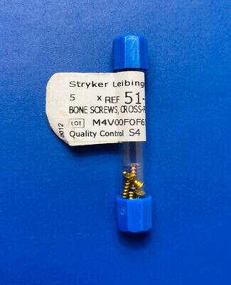 Stryker Leibinger 51-15006 Bone Screws Cross Pin Self-tapping 1.5 X 6mm Blue