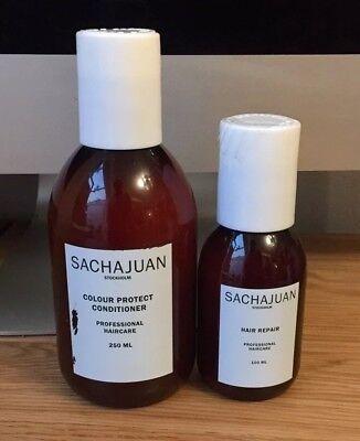 Sachajuan Stockholm Colour Protect Conditioner 250ml & Hair Repair 100ml BN
