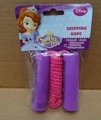 Job Lot Disney Sofia My First Skipping Rope X 12 Pieces