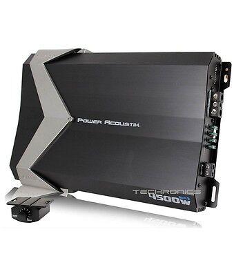 POWER ACOUSTIK GT1-4500D 4500W MONO BLOCK CLASS D 1 CHANNEL CAR AUDIO AMPLIFIER