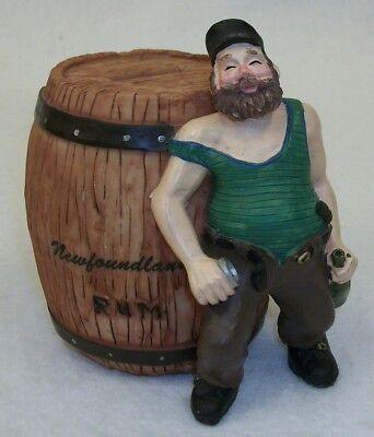 Newfoundland Rum Barrel with Drunk Man Bank