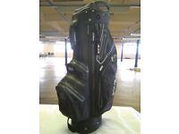 Aqua Black Cart Bag