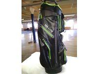 Dri Lite Cart Bag - Green / Black