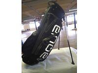 Aqua Black Stand Bag