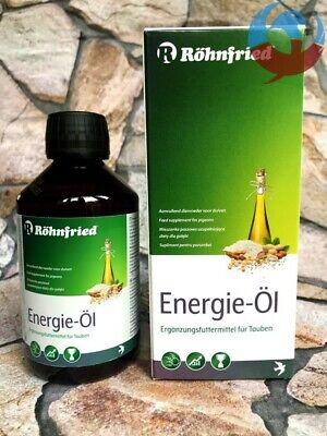 ROHNFRIED ENERGY Öl OIL 250ml PIGEONS BOOST MOULTING RACING FLYING BREEDING YBS