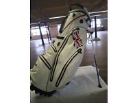 White Limited Edition British Stand Bag New