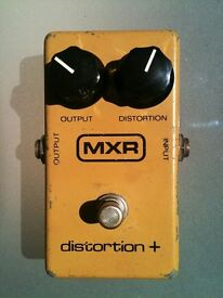 MXR Distortion+ (vintage overdrive)