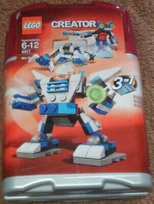 Lego Creator 3 In 1 Mini Robots Set #4917 Kids Building Toy Brand New Sealed