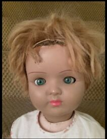 Walking collectable vintage doll