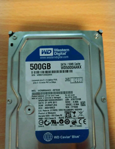 2 x WD 500GB hard drives Welshpool Canning Area Preview