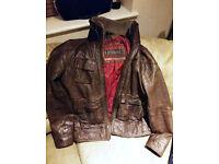Superdry mens flight jacket