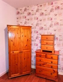 Lovely Pine Bed Room Furniture
