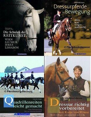 Cadmos Dressur Pferde Buchpaket mit 4 verschiedenenen Titel zum Sonderpreis NEU