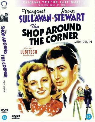 The Shop Around the Corner (1940) James Stewart [DVD] FAST SHIPPING