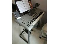 YAMAHA TYROS 4 with MS04 speakers and L7 stand plus pedals