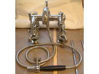 Bath/Shower Mixer Unit and Basin Taps