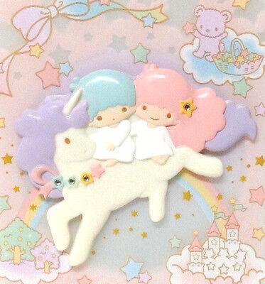 Sanrio Little Twin Stars Art Deco Unicorn Mirror Kawaii From Japan Rare