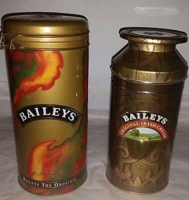 Baileys  Irish Cream Collectible Tins  1992 & 1995