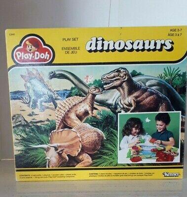 Kenner Play-Doh Dinosaurs Play set Vintage 1987