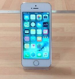 Used Apple iPhone 5s (Unlocked) In Gold Fully Reset