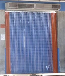 8x10 pvc strip door industrial plastic curtain door 8x10