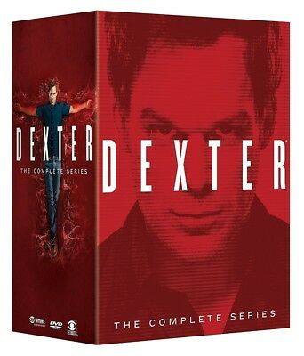 Dexter The Complete Series Season 1 8 Boxset  Dvd 2015 32 Disc  1 2 3 4 5 6 7 8