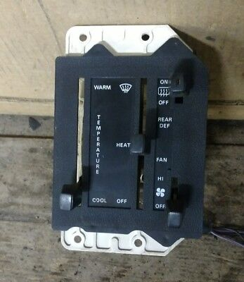 (FORD EXP CLIMATE CONTROL OEM 1983)