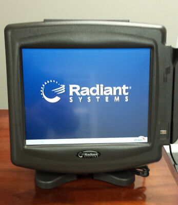 Radiant P1220 Pos 12 Touchscreen Terminal 2gb Ram 4gb Udoc With Msr
