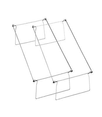 Smead - Heavy Gauge Steel Hanging Letter File Folder Drawer Frames - 2pk