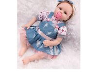 I have a few reborn baby dolls for sale new i. Boxes