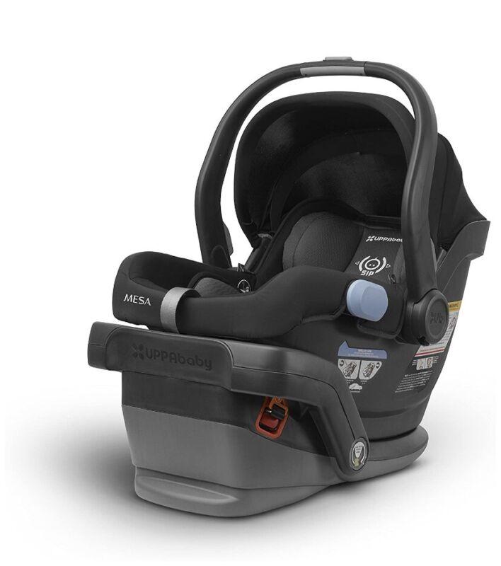 UPPAbaby 1017-MSA-US-JKE Infant Car Seat - Jake Black