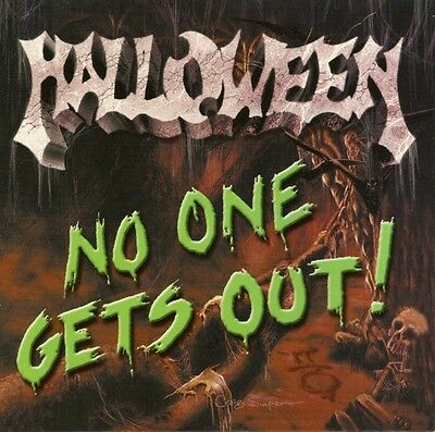HALLOWEEN - NO ONE GETS OUT! cd SEALED! detroit metal godsmack evil victims KISS (Kiss Halloween Music)