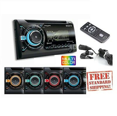 $127.99 - SONY WX900BT +2YR WARANTY CAR STEREO BLUETOOTH PANDORA IPHONE USB AUX PLAYER