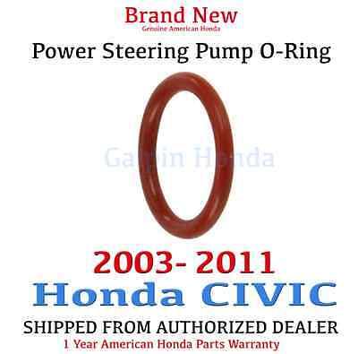 (2003-2011 Honda CIVIC Genuine OEM Power Steering Pump O-Ring     (91345-RDA-A01))